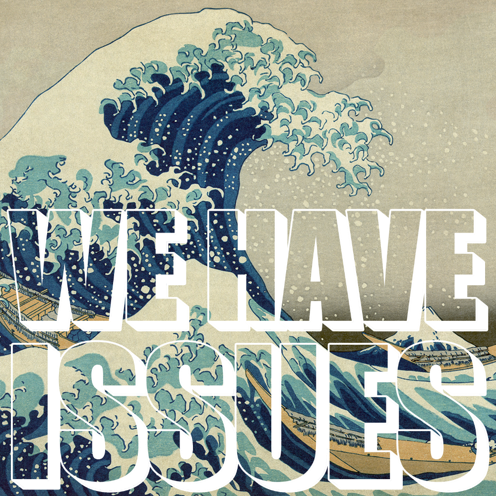 whi25 - Great Wave off Kanagawa detail by Katsushika Hokusai